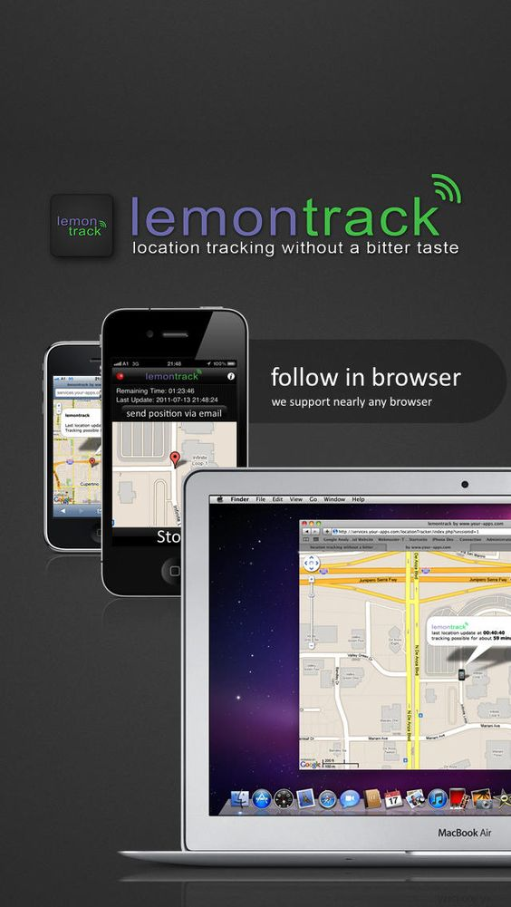 Thomas Binderhofer | Navigation | iPhone | lemontrack - GPS ... $0.00 | ver.1.3| $0.99 | with lemontrack you can share your current position with your friendsjust press start, select the duration ofyour localising session and send an ...