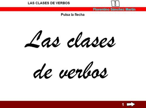 CLASES DE VERBOS2