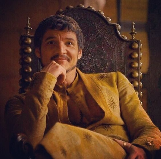 Oberyn Martell! He has the best reactions to the capital!