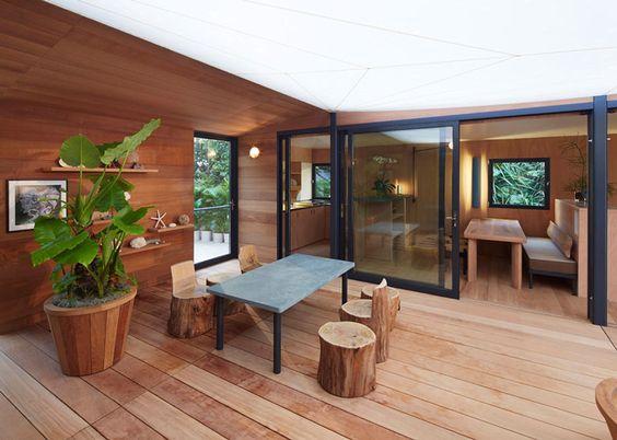 Къща на плажа от Louis Vuitton
