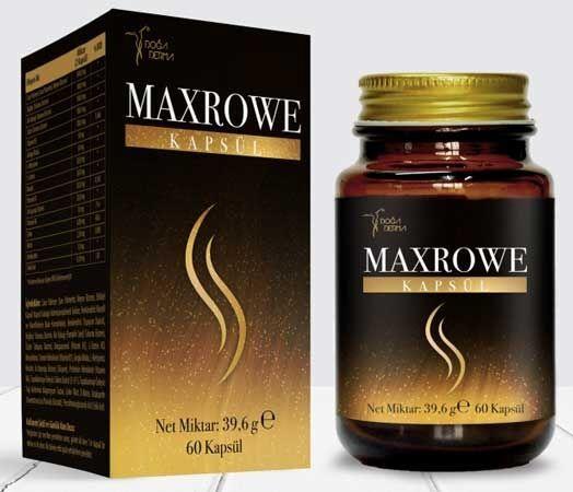 Maxrowe Kapsul Fiyat 30 Indirimle Burada Kapsul Bitki Urunler