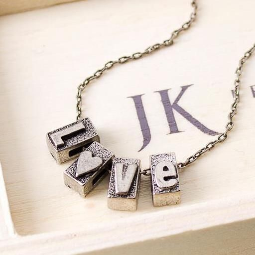 Perfect Valentineu0027s Day gift! Letter Press Blocks $14 hunter - gift letter