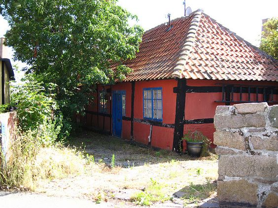 Old House in Sandvig, Bornholm, by Ing_unn, via Flickr