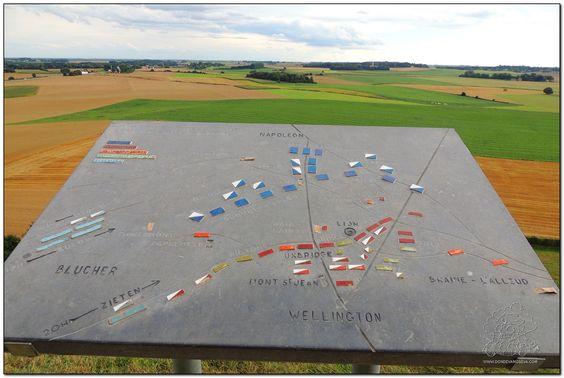 Explicaciones de la batalla de Waterloo