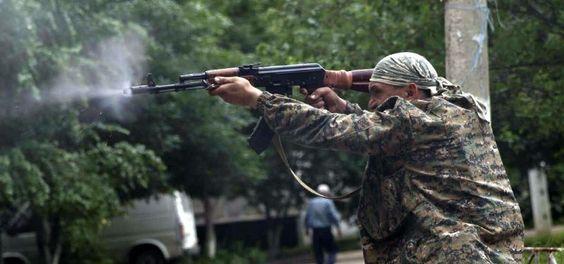Una de las ofensivas más poderosas del ejército ucraniano atacó el poblado de Uglegorsk, ubicado en la rebelde provincia de Donetsk
