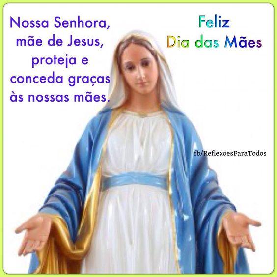 Feliz Dia das Mães! Clique na imagem e leia a linda história de Nossa Senhora de Fátima (e oração).