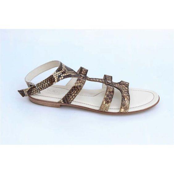 Tod\'s ladies flat sandal XXW0HA03970RJ0C005