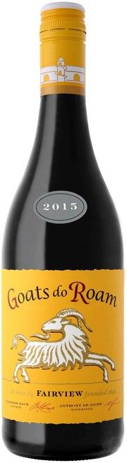 "Buy wine Fairview, ""Goats do Roam"" Red, 2015, 0.75 L – price, reviews"