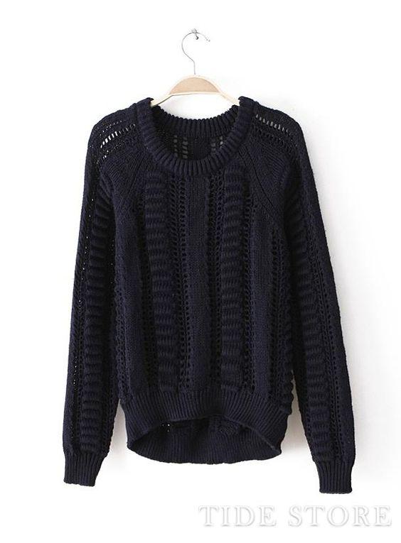 US$21.99 Luxury Hollow Retro Sweater. #Sweaters #Retro #Hollow #Sweater