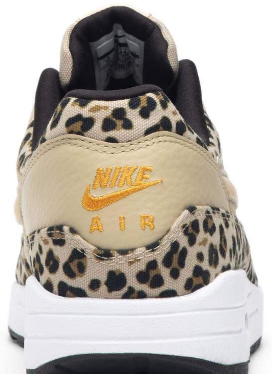 nike wmns air max 1 premium leopard (beige)