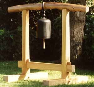Bell for Japanese garden someday meditation corner Secret Garden