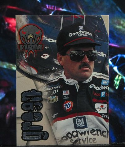 http://nascarniche.blogspot.com/  Jeff Green 1996 Wheels Viper Trading Card #50 Base Set Nascar
