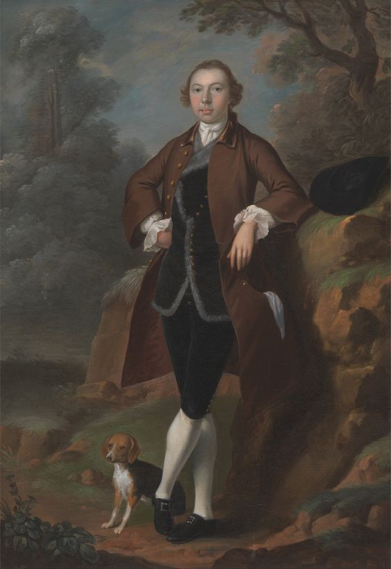 Arthur Devis: William Farington of Shawe Hall, Lancashire. ca. 1743.: