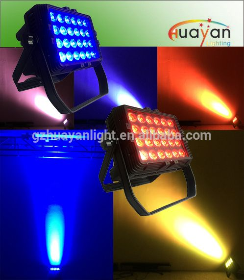 Source Outdoor Led Wall Washer Lights 24 10w Rgbw Quad Leds Ip65