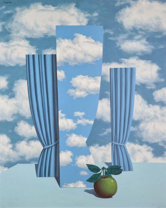 René Magritte, 1962 - Le beau monde