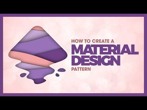 Inkscape Tutorial Material Design Pattern Youtube Material Design Pattern Design Tutorial