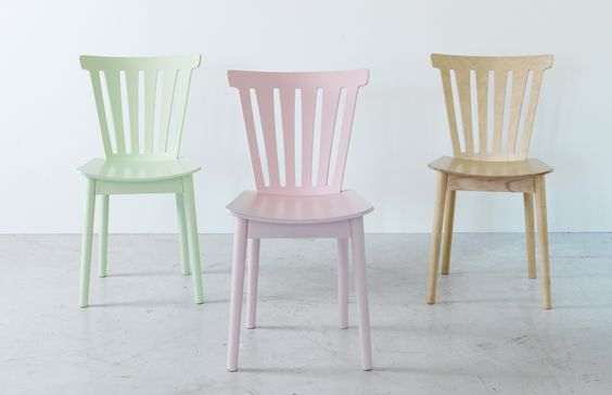 I NEED this chair but it's only in store…in Europe. and all of the UK stores are not near anywhere I normally go. UNACCEPTABLE. // Misty pastels. Limited edition BRÅKIG chair, £40 each, available in-store.