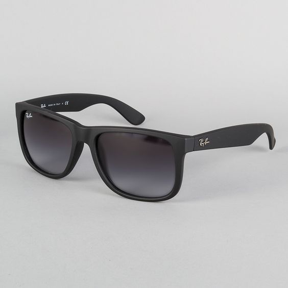 ray ban sunglasses sale switzerland  ray ban justin sunglasses rubber black/grey gradiant thumbnail