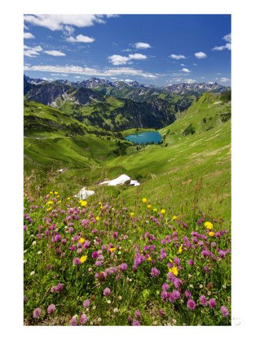 Seealpsee am Nebelhorn / Oberstdorf