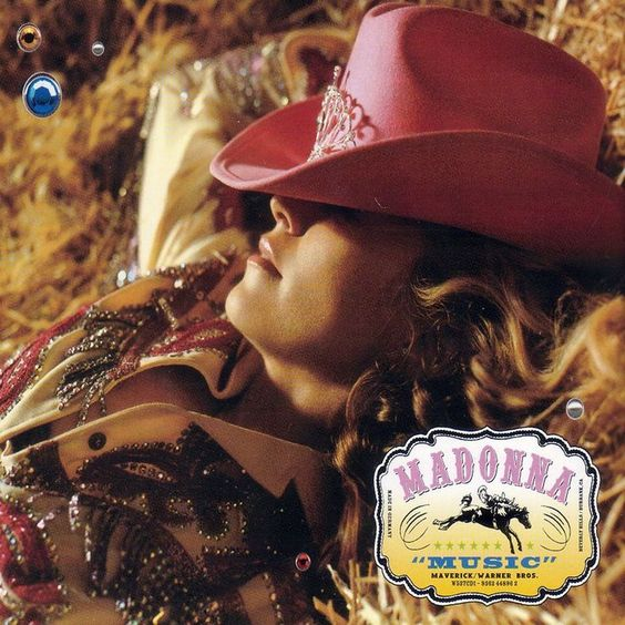 Madonna – Music (single cover art)