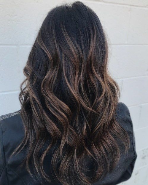 60 Hairstyles Featuring Dark Brown Hair With Highlights Brown Hair With Highlights Hair Styles Hair Highlights