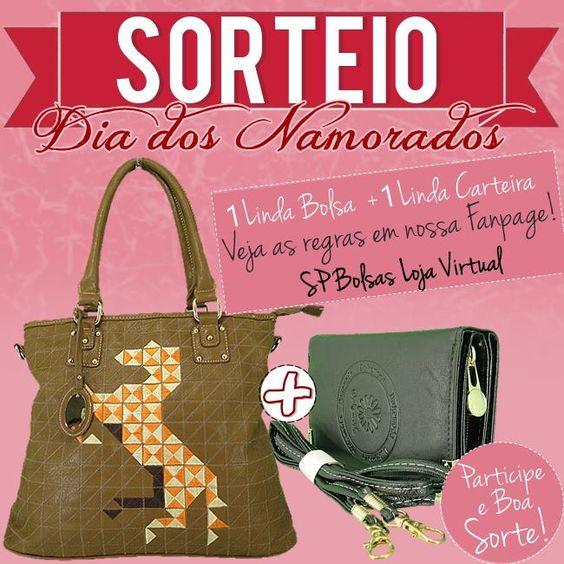 Promoção Dia dos Namorados 2015: Concorra a Bolsa e Carteira Femininas!