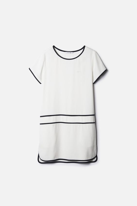 What would you like to wear today? What about the #polo #dress from #Lacoste Match Point Collection