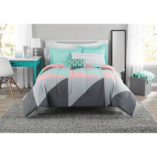 Home In 2020 Teal Bedding Grey Teal Bedding Comforter Sets