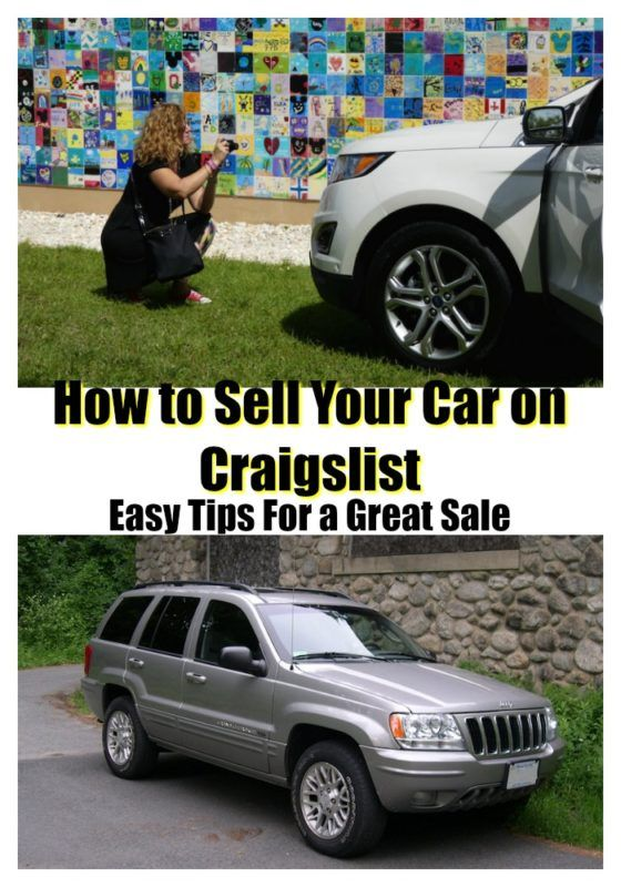 Sell Your Car On Craigslist It S Easier And Safer Than You Think A Girls Guide To Cars Car Sell Car Craigslist