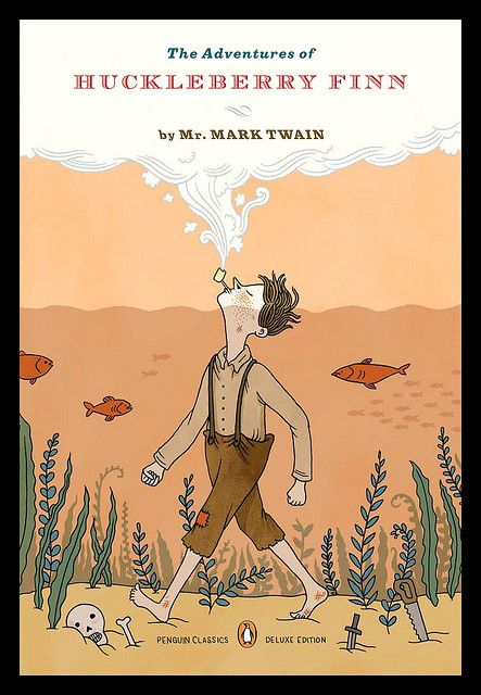 a literary analysis of racism in the adventures by huckleberry finn by mark twain Reflections of racism: twain's huckleberry finn then and now  from the literary work is explored in this analysis)  twain, mark adventures of huckleberry .