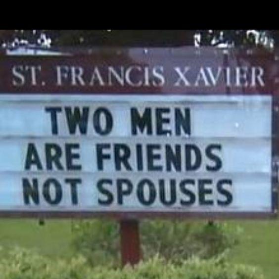 Friendship vs marriage