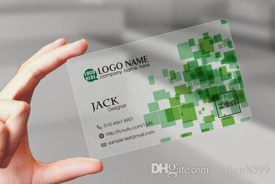 Design Plastic Business Cards Discount Gift Card In 12h With