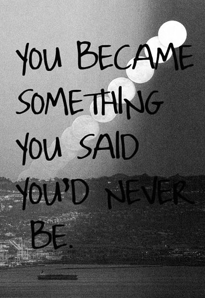 Unfortunately you did. But it was for the good!