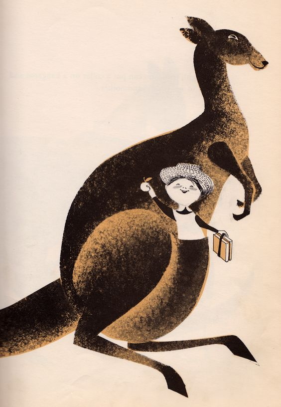 Who Ever Heard of Kangaroo Eggs? - written by Sam Vaughan, illustrated Leonard Weisgard (1957)