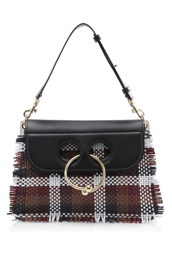 Multi Woven Medium Pierce Bag by J.W. ANDERSON for Preorder on Moda Operandi