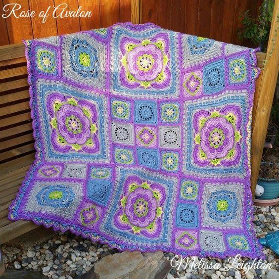 Rose of Avalon - Crystals & Crochet £4.99: