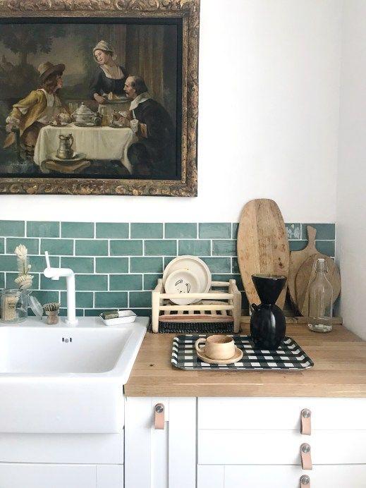 La Renovation D Une Maison Ancienne Par Pauline Instagram Levelorose Meuble De Cuisine Ikea Maison Ancienne Cuisine Appartement