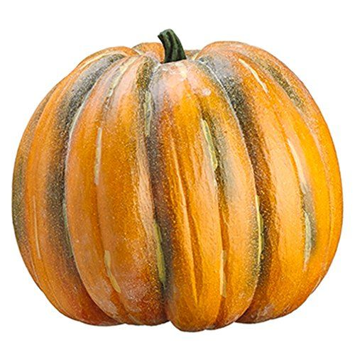 19'Hx19'W Artificial Weighted Pumpkin -Antique Talisman ** Click image for more details.