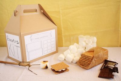 Smores Kit - My Kids would love this!