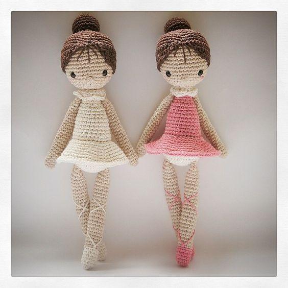 crochet doll amigurumi ballet ༺✿ƬⱤღ✿༻: