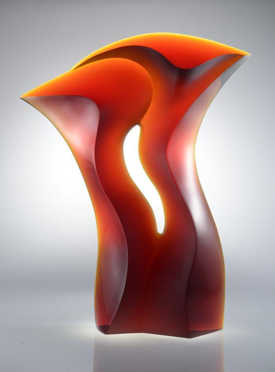 Latchezar Boyadjiev Title: Relationship Process: Cast Glass Size: 30 x 24 x 5 Inche: