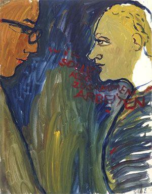 Paulinka Bimbam und der Gesangspädagoge Amadeus Daberlohn, aus »Leben? oder Theater?«