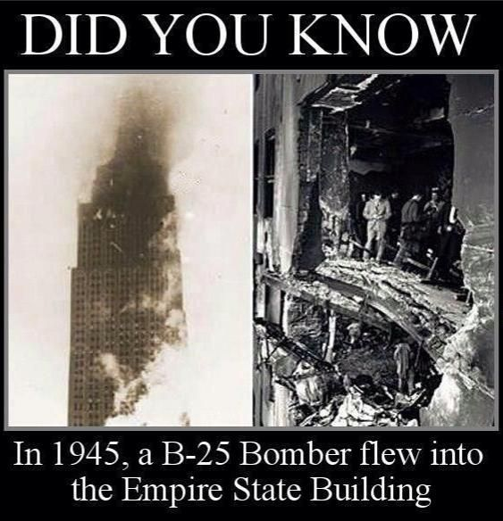 And it didn't collapse, yet three WTC skyscrapers fell on 9/11?