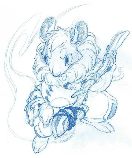 ArtStation - Mouse Mage, Christina Gardner