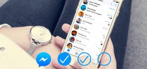 What Do The Different Facebook Messenger Circles Mean? (And More) #SocialMedia