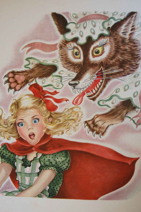 The Story of Little Red Riding Hood Rare 1946 Book from Perrault