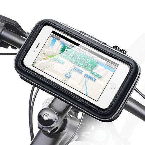 Bicycle Bike Phone Mount Holder Ikross Black Universal Water