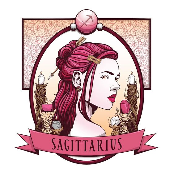 Sagittarius always looking forward