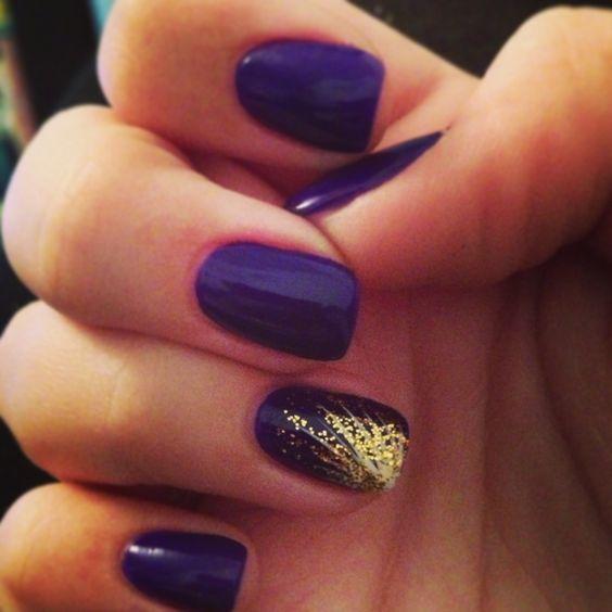 Rapunzel Nails: Gold Nails, Nail Art And Rapunzel On Pinterest