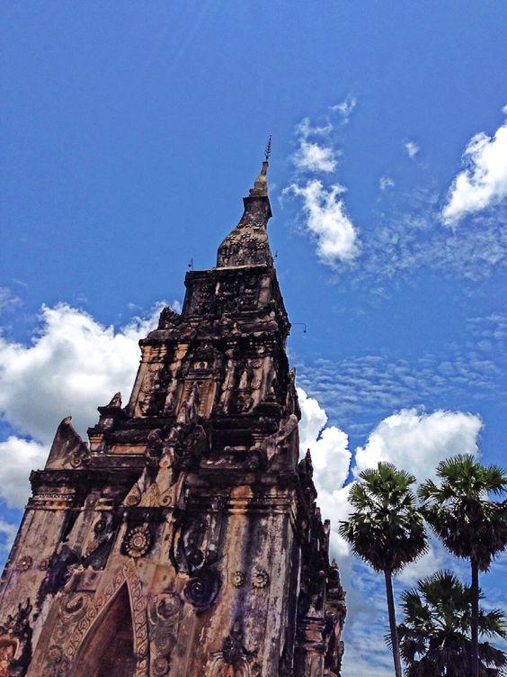 The temple in Laos. Sawannaket